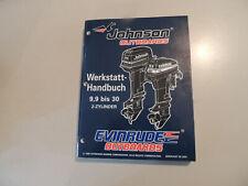 1996 Werkstatthandbuch Johnson Evinrude Außenborder 9.9 10 15 20 25 28 30 2-Zyl.