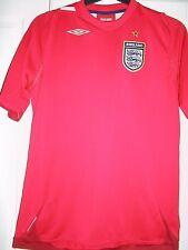Oficial Genuino Inglaterra Copa Del Mundo 2006-2008 Camiseta De Fútbol Fútbol &