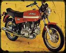 Ducati 860Gt A4 Photo Print Motorbike Vintage Aged