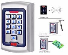 Serratura elettronica RFID + Tastiera metallo antivandalo esterno 2000 utenti