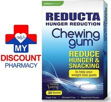 * REDUCTA CHEWING HUNGER REDUCTION FAT BLASTER WEIGHT LOSS 30 GUMS