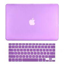 "Unik Case-2 in 1 Matte Hard Case & Silicone Skin for Macbook Pro 13"" -Purple"