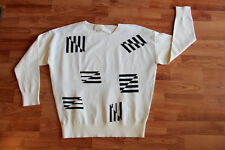 Band of Outsiders Flying Stripe Jacquard Sweater Sz. 2