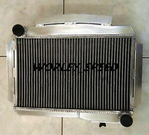 56MM ALUMINUM RADIATOR FOR MG MGA 1600 TWIN CAM MT 1958-1960 58 59 60 MT