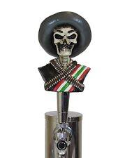 Custom Bandito Zapata Gun Slinger Sports Bar Pub Beer Tap Handle Keg Lager Brew