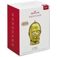 C-3PO Star Wars with Light and Sound 2018 Hallmark Keepsake Ornament