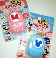 Disney Daiso Japan Mickey Mouse Minnie Mouse Punch Tool For Crafts Bento