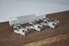 3 Gleisrollenböcke H0 incl. Vor/Nachläufer  Rollenprüfstand Spur DC/DCC  NEU