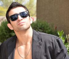 PROFESSOR Wayfarer Style Sunglasses-Black
