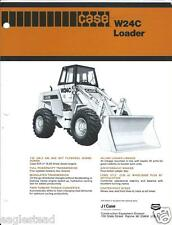 Equipment Brochure - Case - W24C - Wheel Loader - c1979 (E2749)