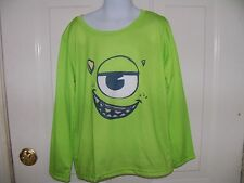Disney Pixar Monsters University Pajama Shirt Size M Boy's NWOT