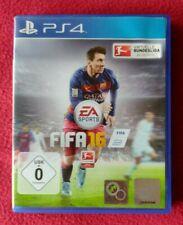 FIFA 16 PlayStation 4 PS4 Spiel Game Zustand gut gebraucht USK 0