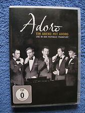 DVD Video + Musik CD Adoro Ein Abend Mit Adoro Live In Der Festhalle Frankfurt