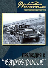 FRI-200104 Frontline Illustrations series Prelude to WW2 Barbarossa Operation 41