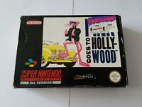 Pink goes to hollywood - Super Nintendo SNES Game [PAL UKV] CIB