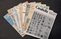 CASABELLA 1982 COMPLETA! 10 numeri 476/477 478 479 480 481 482 483 484 485 486