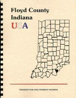 IN FLOYD COUNTY INDIANA 1889 HISTORY/BIOGRAPHY~NEW ALBANY~WPA GUIDE EXCERPT
