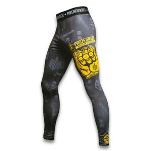 Pride Or Die Jiu Jitsu Hang Loose Compression Spats BJJ Training Leggings