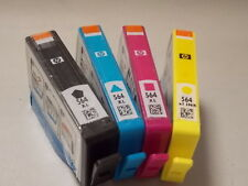 Set of HP 564xl  Black Cyan Magenta Yellow New Generation Ink Cartridges Genuine