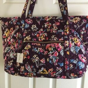 Vera Bradley INDIANA ROSE Miller Travel Bag Tote Carry-on Overnight HTF NWT