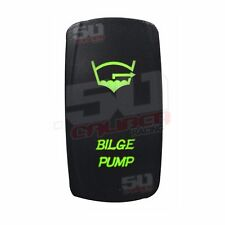 Waterproof 12V Switch Bilge Pump Marine Ski Wakeboard Bass Pontoon Boat Green