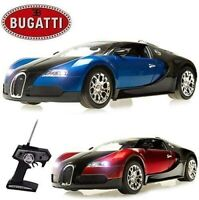 Kids Official 1:14 Bugatti Radio Controlled RC Electric Toy Car - Ready To Run