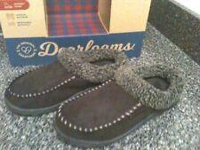 NEW Original Dearfoam Men's Memory Foam Slipper, Brown, Warm, Sz S 7-8  $38