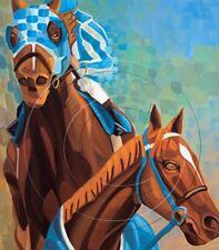 Horse Racing Secretariat Print Canvas Equine Triple Crown Edition Art SFASTUDIO