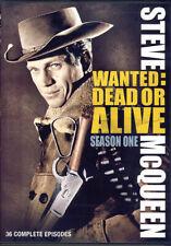 WANTED - DEAD OR ALIVE (SEASON ONE) (STEVE MCQUEEN) (KEEPCASE) (DVD)