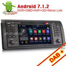 Android 7.1 Autoradio BT DVD DAB+ GPS WiFi OBD Canbus BMW 5er E39 X5 E53 M5 Navi