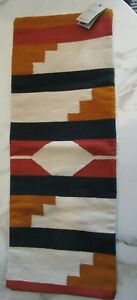 "West Elm Silk Mono Stripe Pillow Cover 24""  Black New"