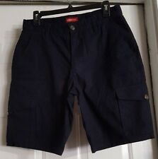 "New W/O Tag Men's Merona Blue Navy Shorts Size 30 Inseam 10"" Total Length 20"""