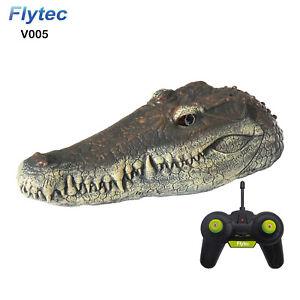 Flytec V005 2.4G Electric RC Boat Simulation Crocodile Alligator Head RTR Model