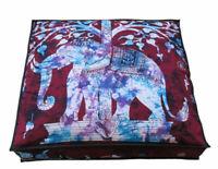 New Hippie Vintage Floor Pillow Cushion Pouf Cover Squar Foot Stool Yoga Decor