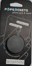 PopSockets Single Phone Grip PopSocket Universal Phone Holder BLACK 101000