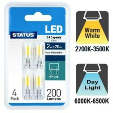 4 x 2W 20W / 28W LED Warm White / Daylight G9 Capsule Non Dimmable/ Halogen Bulb