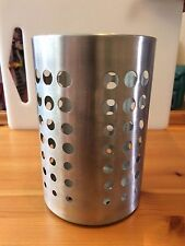Herramienta De Cocina De Acero Inoxidable Utensilio Bote cubiertos Jar Pot Soporte de almacenamiento de información puede