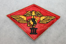 Original WW2 USMC (U.S. Marine Corps) 3rd Marine Air Wing Uniform Patch