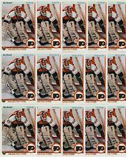 RON HEXTALL 15 CARD LOT 1990-91 UPPER DECK HOCKEY # 227 FRENCH & US FLYERS HOF
