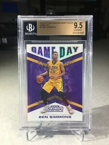 2016 Contenders Draft Picks Game Day Ben Simmons Rookie #1 - BGS 9.5 - 76ers