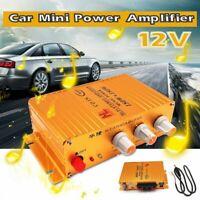 12V 360W Car Mini Hi-Fi Stereo Audio Power Amplifier AUX MP3 Player Powerful AMP