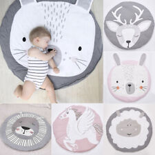 Soft Cotton Baby Game Activity Play Gym Mat Crawling Blanket Game Nursery Decor