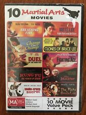 10 Martial Arts Movies DVD Region All New Movie Pack Multi pack Bruce Lee