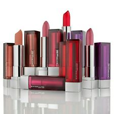 MAYBELLINE Color Sensational Lipsticks inc Matte - CHOOSE SHADE - NEW