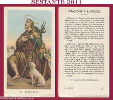 54 SANTINO HOLY CARD S. SAN ROCCO ED G MI ED. G MI. 43