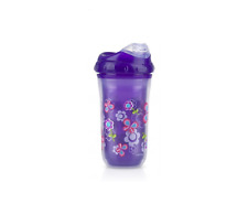 Nuby Baby Girls Insulated COOL SIPPER Training Cup Beaker No-spill 270 ml 18+