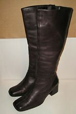 Easy Spirit Anti Gravity SNOWBIRD Women's Knee-High Dk Brown Leather Boots 8.5 B