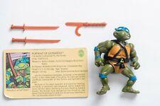 Vintage TMNT Ninja Turtles - 1988 Leonardo - Playmates
