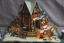 3D, Pop-up Santa delivering toys Czechoslovakia Kubasta Vojtêch Kubašta