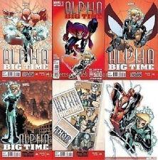 ALPHA BIG TIME 0.1 1 2 3 4 5 MARVEL NOW 1st print 2013 AMAZING SPIDER-MAN THOR